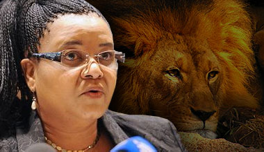 Minister Edna Molewa addresses lion breeding and hunting
